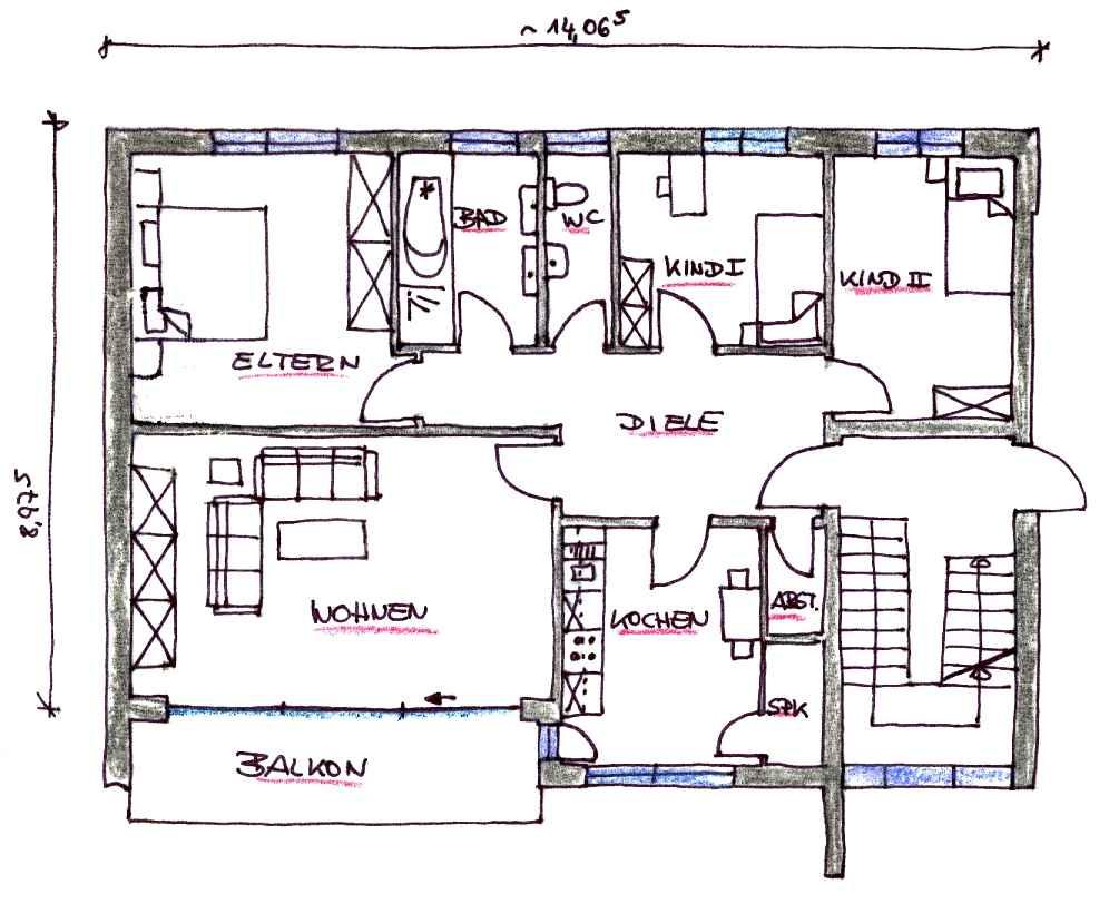 k nigsberger str 13 whg 5. Black Bedroom Furniture Sets. Home Design Ideas